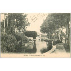 carte postale ancienne 41 VENDOME. Square des Grands Prés 1903