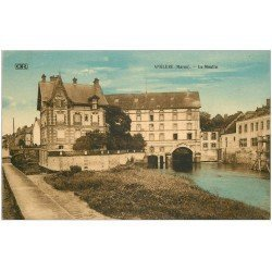 carte postale ancienne 51 ANGLURE. Le Moulin