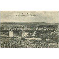 carte postale ancienne 51 AVENAY. Vins et Cuture 1918