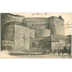 carte postale ancienne 08 SEDAN. La Citadelle 1903 Militaires