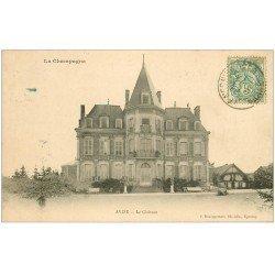 carte postale ancienne 51 AVIZE. Le Château 1907