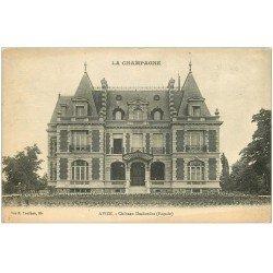 carte postale ancienne 51 AVIZE. Le Château Desbordes