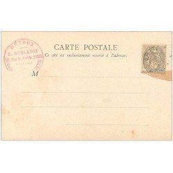 carte postale ancienne 51 CHALONS-SUR-MARNE. Cathédrale. Timbre 1 centime 1902