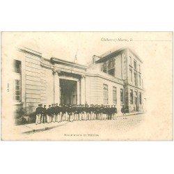 carte postale ancienne 51 CHALONS-SUR-MARNE. Ecole Arts et Métiers