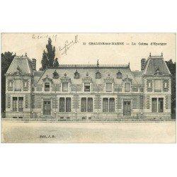 carte postale ancienne 51 CHALONS-SUR-MARNE. La Caisse d'Epargne 1919