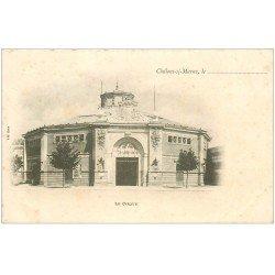 carte postale ancienne 51 CHALONS-SUR-MARNE. Le Cirque