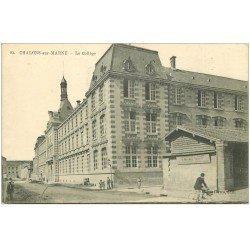 carte postale ancienne 51 CHALONS-SUR-MARNE. Le Collège 1915