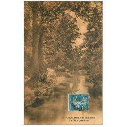 carte postale ancienne 51 CHALONS-SUR-MARNE. Le Nan 1922