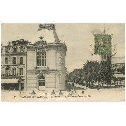 carte postale ancienne 51 CHALONS-SUR-MARNE. Musée et Eglise