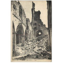 carte postale ancienne 51 DORMANS. Ruines Eglise