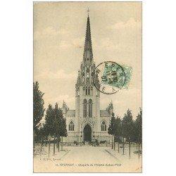 carte postale ancienne 51 EPERNAY. Chapelle Hôpital Auban-Moët 1907 écrite à Maillard