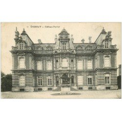 carte postale ancienne 51 EPERNAY. Château Perrier