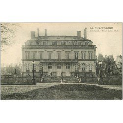 carte postale ancienne 51 EPERNAY. Hôtel Auban-Moët 1919