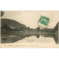 carte postale ancienne 51 EPERNAY. La Coupe Coteau de Mareuil-sur-Ay 1922