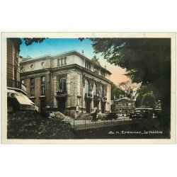 carte postale ancienne 51 EPERNAY. Le Théâtre. Photo émaillographie
