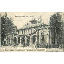 carte postale ancienne 51 EPERNAY. Moët et Chandon Exposition de Turin de 1911
