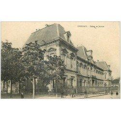 carte postale ancienne 51 EPERNAY. Palais de Justice 1930