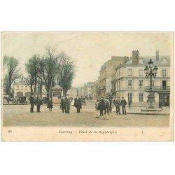 carte postale ancienne 51 EPERNAY. Place de la République 1904
