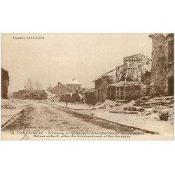 carte postale ancienne 51 FISMES. Faubourg de Reims