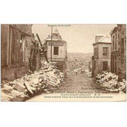 carte postale ancienne 51 FISMES. Faubourg de Vesle