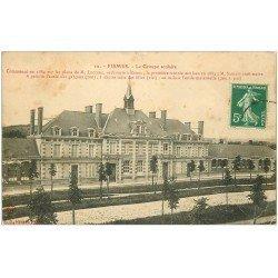 carte postale ancienne 51 FISMES. Le Groupe Scolaire