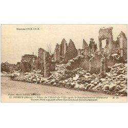 carte postale ancienne 51 FISMES. Place Hôtel de Ville