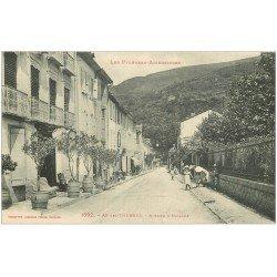 carte postale ancienne 09 AX-LES-THERMES. Avenue d'Espagne