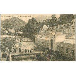 carte postale ancienne 09 AX-LES-THERMES. Etablissement du Teich