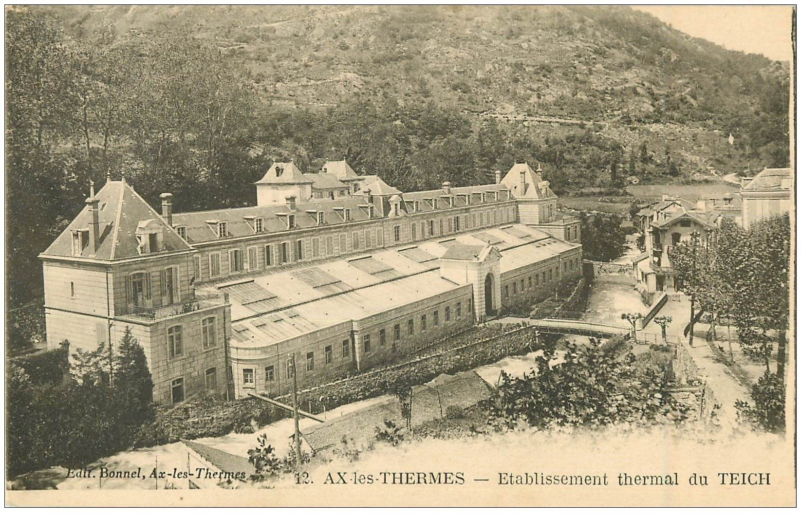 09 ax les thermes etablissement thermal du teich - Axe les thermes office du tourisme ...