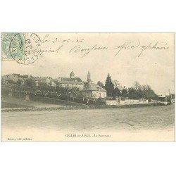 carte postale ancienne 02 CELLES-SUR-AISNE. Le Panorama 1906