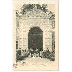 carte postale ancienne 09 AX-LES-THERMES. Le Personnel Porte du Teich