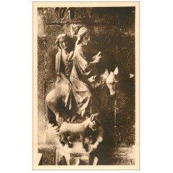 carte postale ancienne 51 REIMS. Cathédrale. Christ bénissant