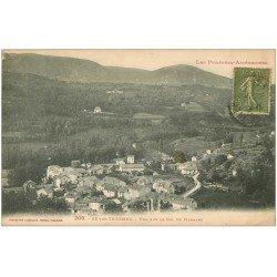carte postale ancienne 09 AX-LES-THERMES. Vue sur le Col de Marmare