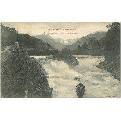 carte postale ancienne 09 CASTELET. Chute de l'Ariège