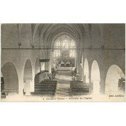 carte postale ancienne 02 CHARLY. L'Eglise