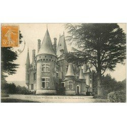 carte postale ancienne 09 FOIX. Château Baron Bellisen Bénac