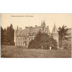 carte postale ancienne 09 FOIX. Château de Bélissens