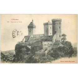 carte postale ancienne 09 FOIX. Le Château 1919