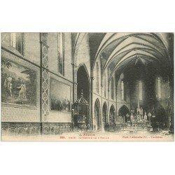 carte postale ancienne 09 FOIX. L'Eglise