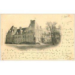 carte postale ancienne 02 CHATEAU DE MARCHAIS. 1902 écriture spéciale...