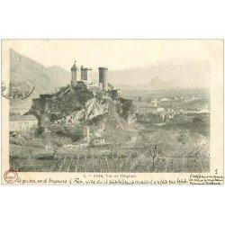 carte postale ancienne 09 FOIX. Vue de l'Espinet 1903