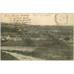 carte postale ancienne 51 RILLY-LA-MONTAGNE. Le Village 1914