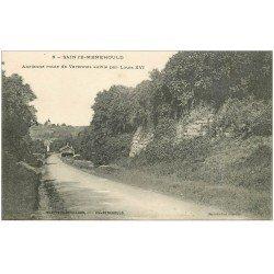 carte postale ancienne 51 SAINTE-MENEHOULD. Ancienne Route de Varennes 1915