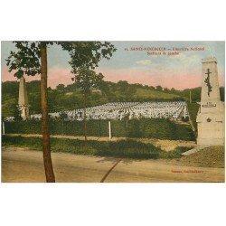 carte postale ancienne 51 SAINTE-MENEHOULD. Cimetière National 1948