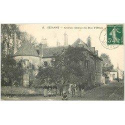 carte postale ancienne 51 SEZANNE. Résidence Ducs Orléans 1910
