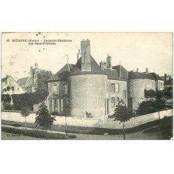 carte postale ancienne 51 SEZANNE. Résidence ses Ducs d'Orléans 1910