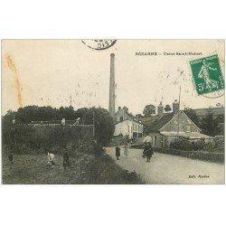 carte postale ancienne 51 SEZANNE. Usine Saint-Hubert