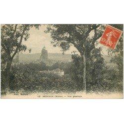 carte postale ancienne 51 SEZANNE. Vue générale