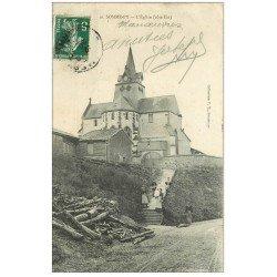 carte postale ancienne 51 SOMME-PY. L'Eglise