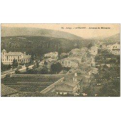 carte postale ancienne 09 LAVELANET. Avenue de Mirepoix 1910